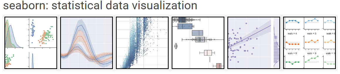 seaborn es una librería gráfica basada en matplotlib especializada en la visualización de datos estadísticos