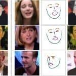 Caras generadas a partir de una imagen y una pose