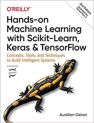 "Libro ""Hands on Machine Learning with scikit-learn, keras and tensorflow"""